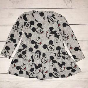 Mickey Mouse Girl Ruffled Hem Top size 3